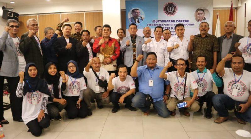 Hadiri Pelantikan PPHI, Wali Kota Ajak Wujudkan Penegakan Hukum Berkeadilan
